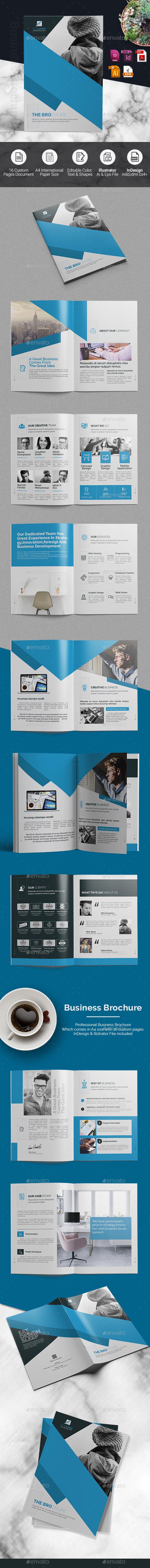 Corporate Brochure -InDesign Template - Corporate Brochures