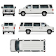 Passenger Van Vector Template - GraphicRiver Item for Sale