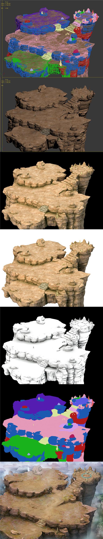 Forgotten tribe - terrain - 3DOcean Item for Sale
