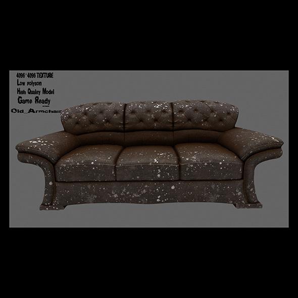 Armchair 20 - 3DOcean Item for Sale