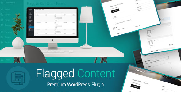 Flagged Content - Let visitors report and flag posts, comments and more to Admin - WordPress Plugin - CodeCanyon Item for Sale