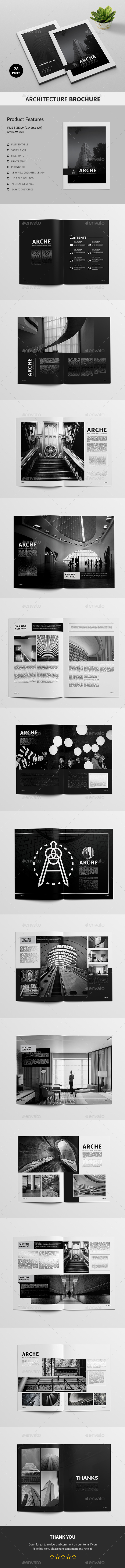 Architecture Brochure A4 - Corporate Brochures