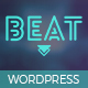 Beat - One-Page Music & Band AJAX WordPress Theme Nulled