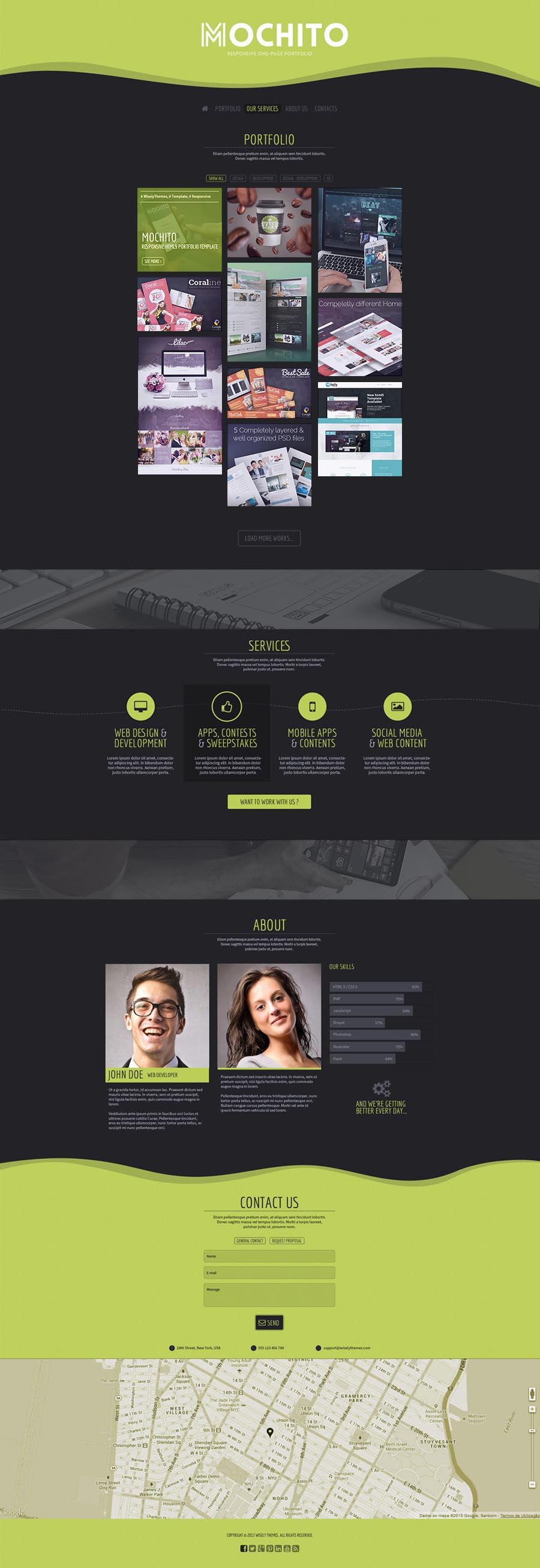 agora clean joomla 2 5 template joomla themeforest mochito one page portfolio joomla template by