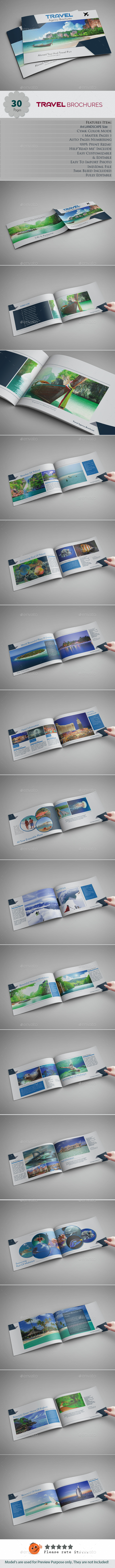 Travel Brochures - Brochures Print Templates