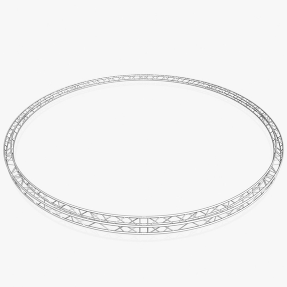 Circle Square Truss Full diameter 1000cm ( 8 Modular Pieces ) - 3DOcean Item for Sale