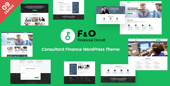 F&O – Consultant Finance WordPress Theme