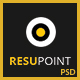 RESUPOINT Personal Portfolio Template - ThemeForest Item for Sale