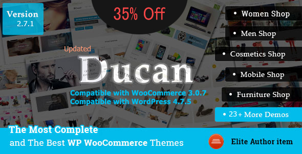 Ducan- Start An Online Store, Woocommerce WP Theme