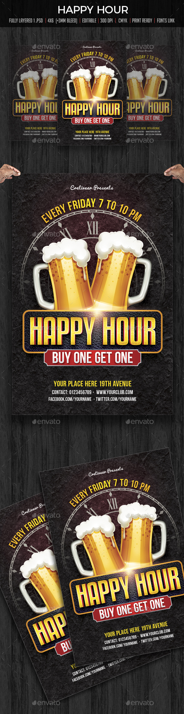Happy Hour - Clubs & Parties Events