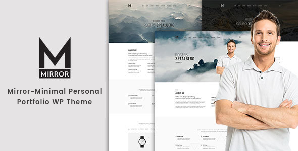 Mirror - Minimal Portfolio WordPress Theme