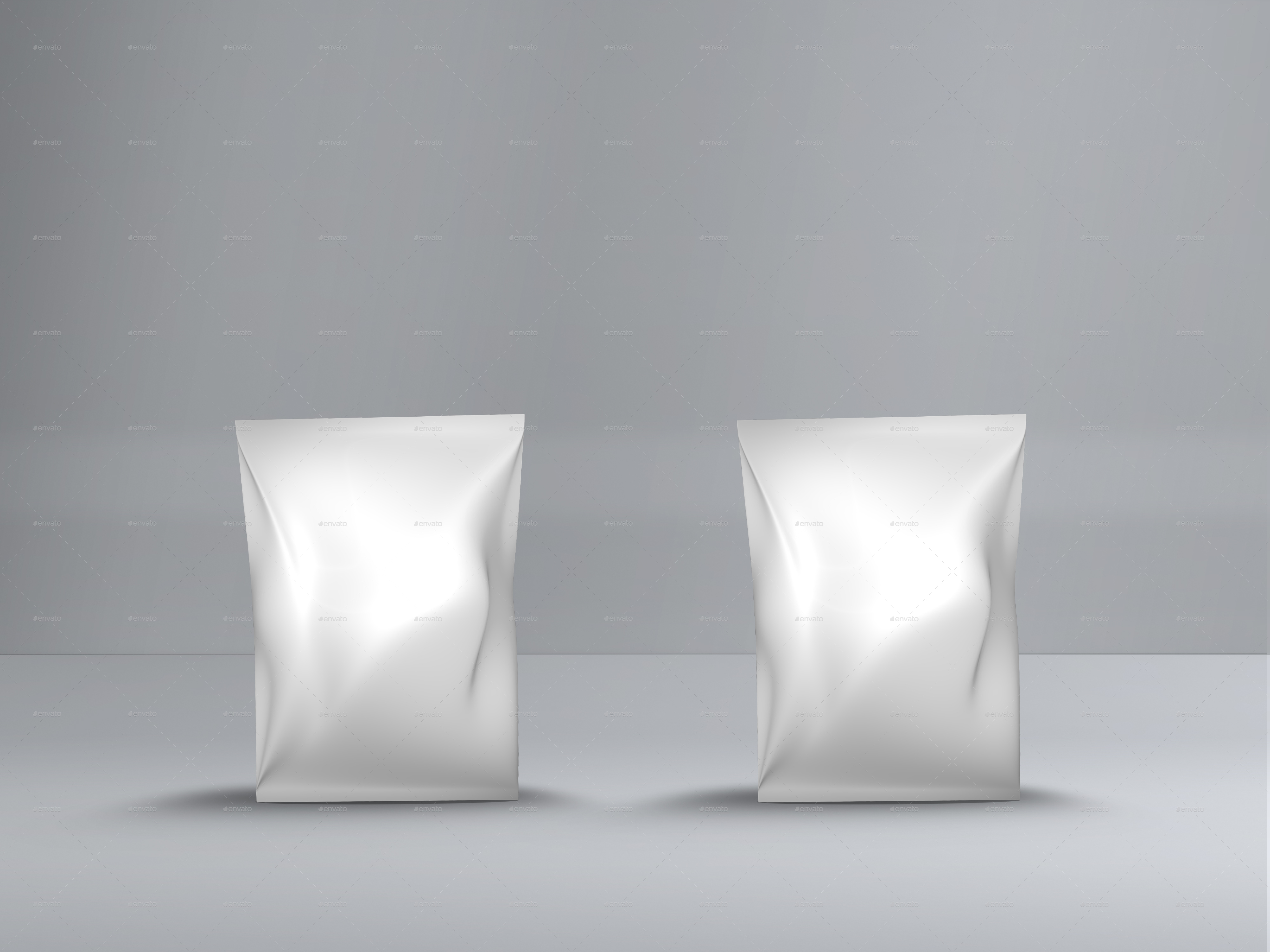 Small Size Potato Chips Bag Mockup By Designsmill