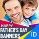 Fathers Day Banners - GraphicRiver Item for Sale