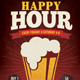 Happy Hour Flyer / Poster - GraphicRiver Item for Sale