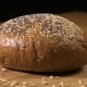 Dark Bread Turns on the Table - VideoHive Item for Sale