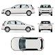 Hatchback Car Vector Template - GraphicRiver Item for Sale
