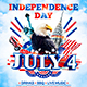 Independence Day Party Poster vol.3 - GraphicRiver Item for Sale