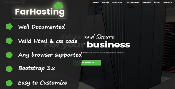 GoHosting – Responsive Coming Soon Template