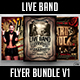 Live Band Flyer Bundle V1 - GraphicRiver Item for Sale