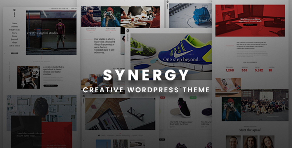 Synergy Creative - Creative WordPress Responsive Theme