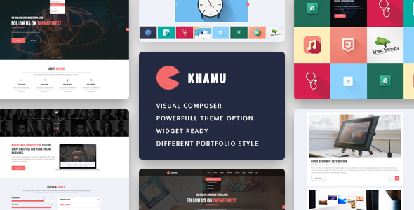 Khamu - Multipurpose Business WordPress Theme - Business Corporate