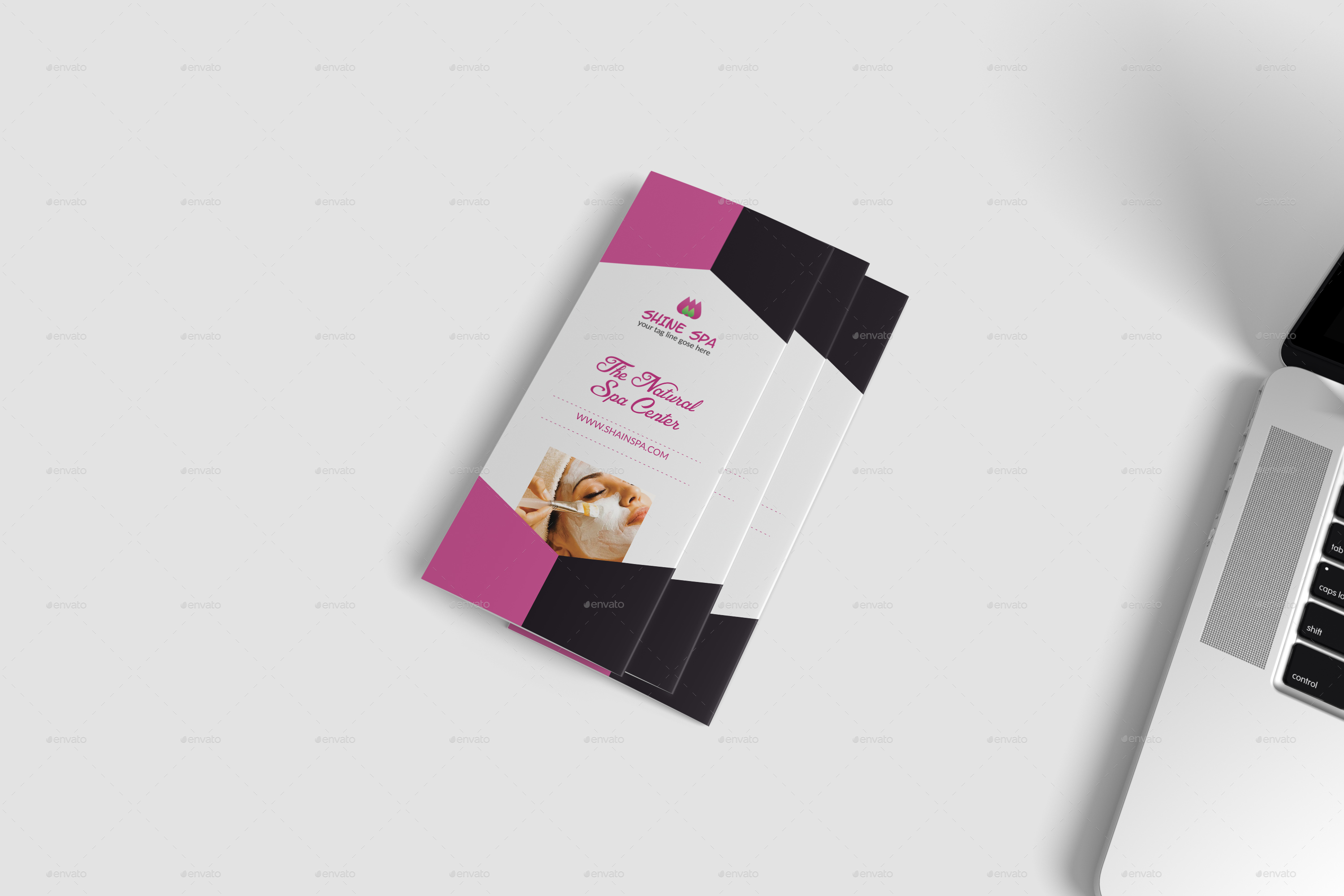 Spa Brochure Template by DesignHaunt – Spa Brochure Template