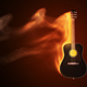 Acoustic Guitar On Fire - VideoHive Item for Sale