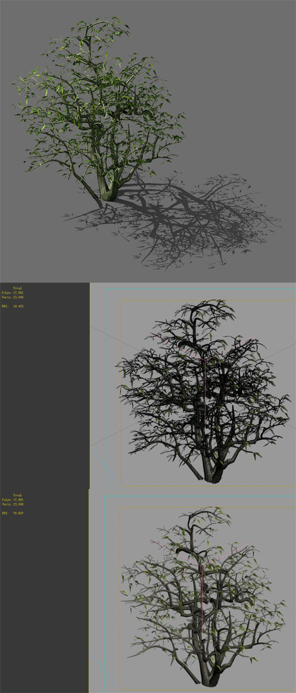 Game Model - Forest - Shrubs 08 - 3DOcean Item for Sale