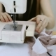 Seamstress Exposes Exactly Fabric Under Needle To Stitch