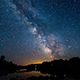 The Milky Way as Seen from French River Provincial Park Ontario Canada - VideoHive Item for Sale