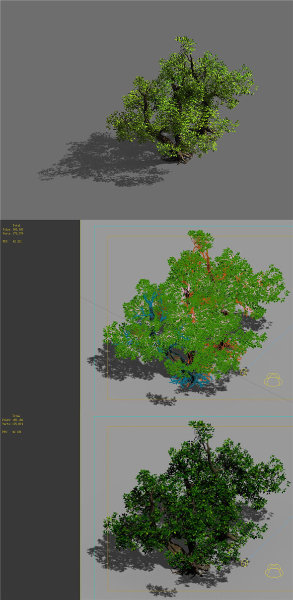 Game Models - Forest - Shrubs 10 - 3DOcean Item for Sale