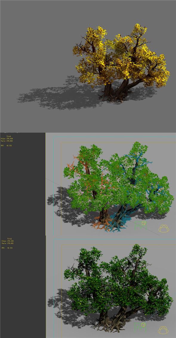 Game Models - Forest - Shrubs 11 - 3DOcean Item for Sale