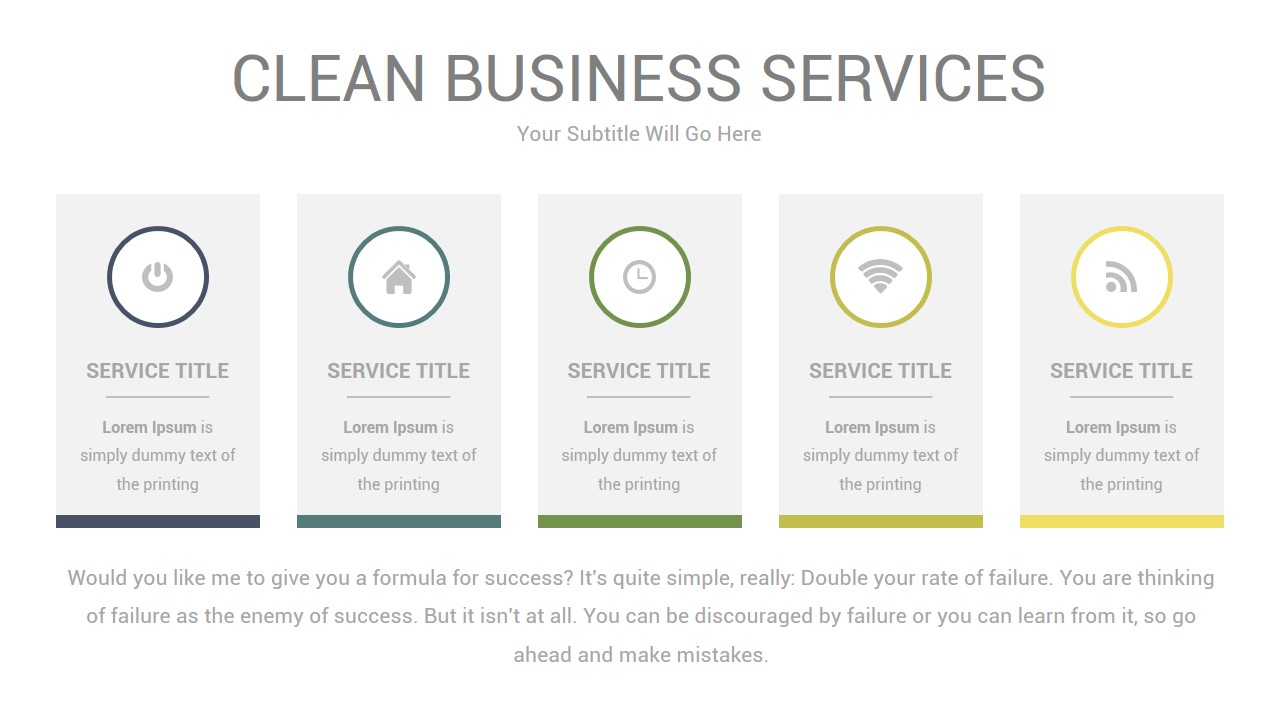 clean business powerpoint presentation templateslidaria, Presentation templates