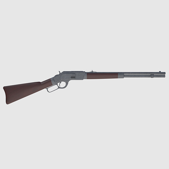 Winchester Rifle - Game Ready - 3DOcean Item for Sale
