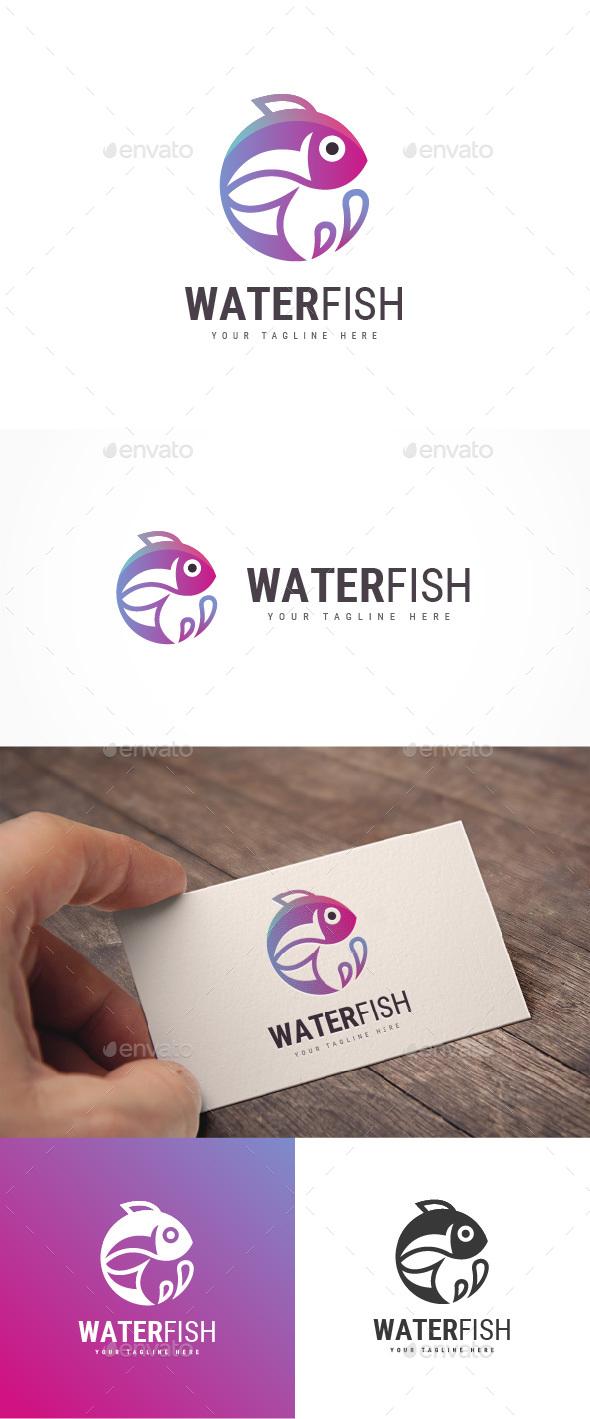 Water Fish Logo - Animals Logo Templates
