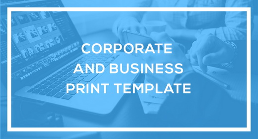 Corporate and Business Print Template