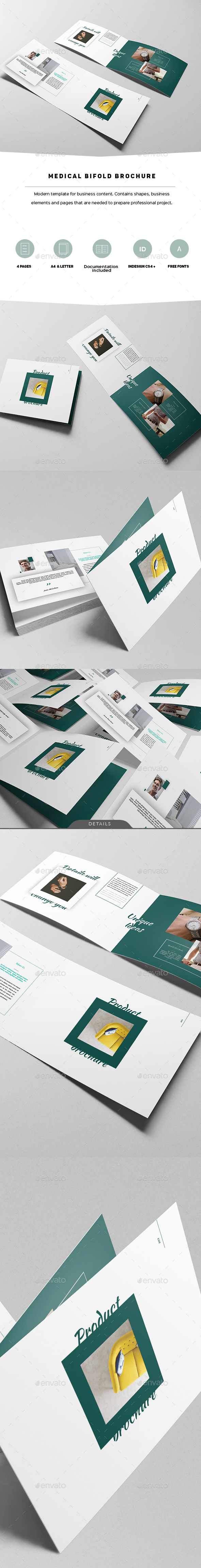 Product Bifold Brochure - Portfolio Brochures