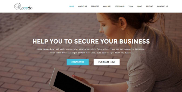 Accede – Business, Agency, Corporate, Consultancy Template