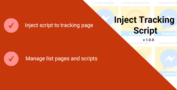 Inject Tracking Script - CodeCanyon Item for Sale
