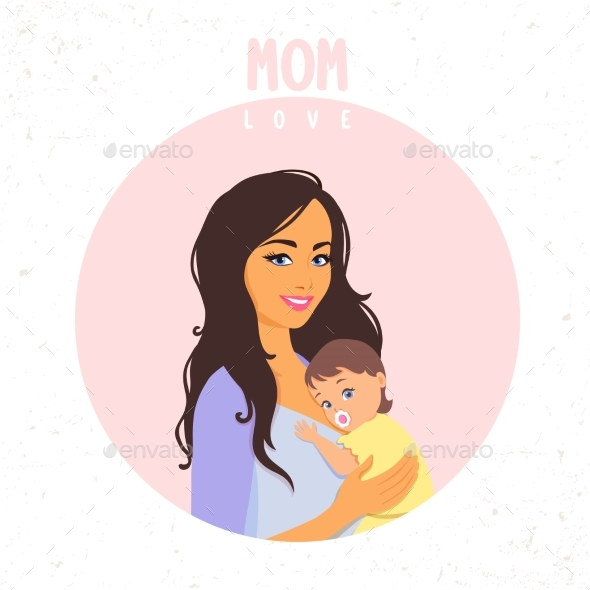 Mom Love - People Characters