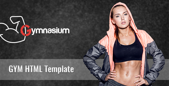 Gymnasium HTML Corporate Template - Site Templates