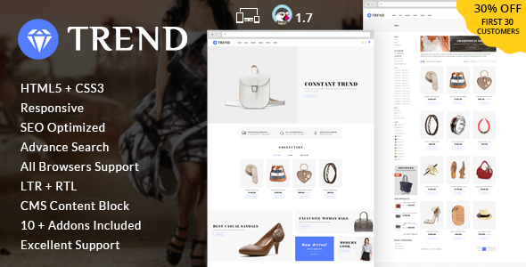 Trend - Multipurpose Prestashop Theme