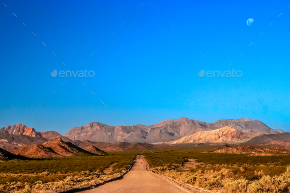 Mountain road in Argentina - Stock Photo - Images