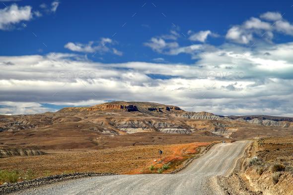 Road through Patagonia - Stock Photo - Images