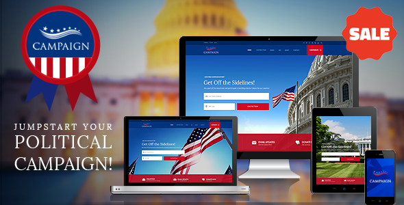 The 30+ Best Political WordPress Themes [sigma_current_year] 3