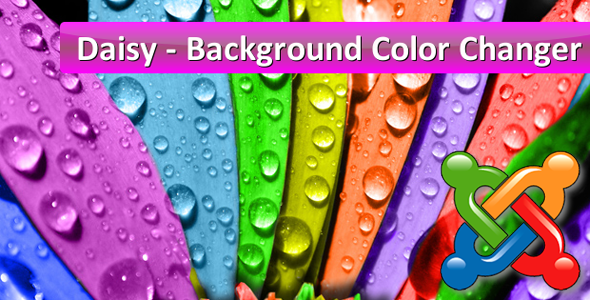 Daisy - Background Color Changer for Joomla - CodeCanyon Item for Sale
