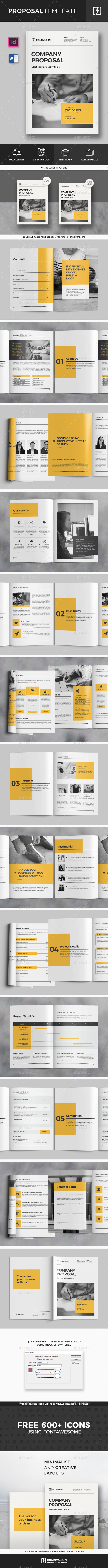 Proposal Template Vol.02 - Proposals & Invoices Stationery