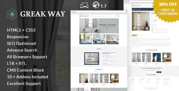 Greak Way – Home Decor Prestashop Theme