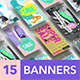Business Banners Set #2 - GraphicRiver Item for Sale