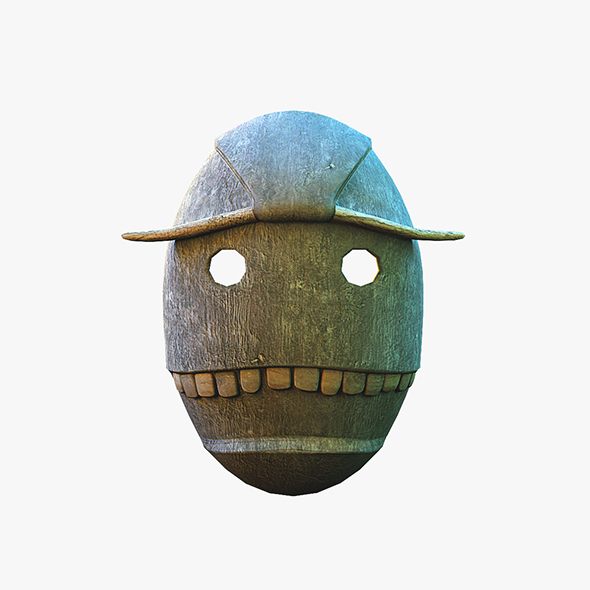 Voodoo mask - 3DOcean Item for Sale